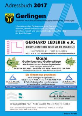 Adressbuch Gerlingen 2017