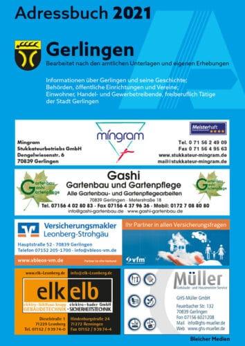Adressbuch Gerlingen 2021