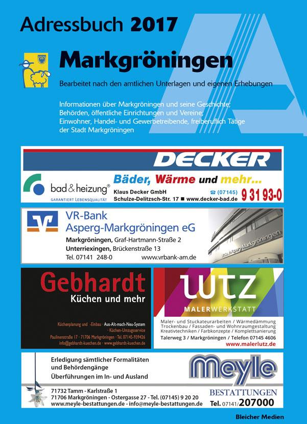 Adressbuch Markgröningen