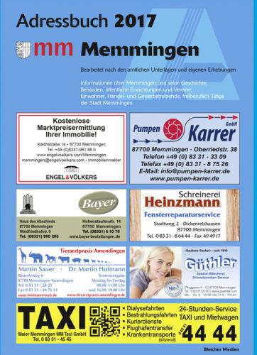 Adressbuch Memmingen2017