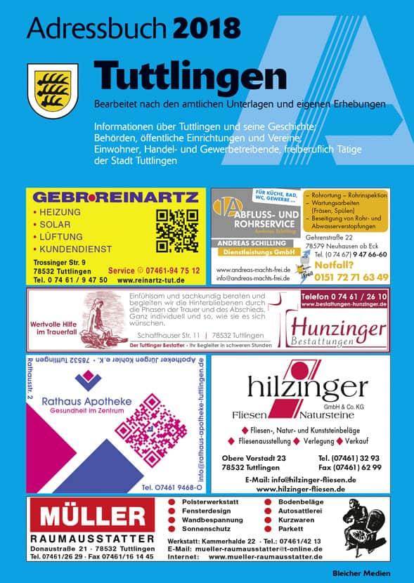 Adressbuch Tuttlingen 2018