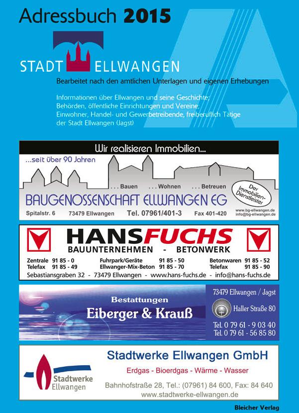Adressbuch Ellwangen 2015