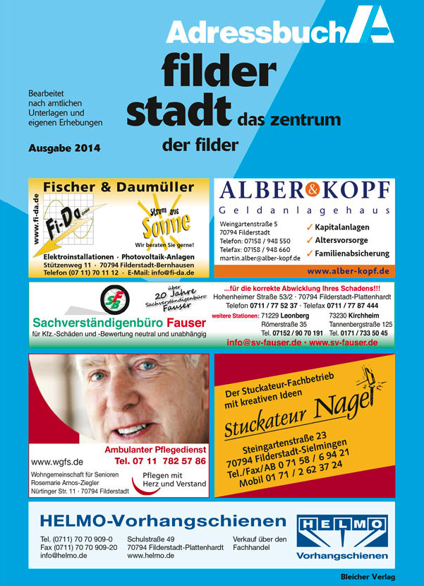 Adressbuch Filderstadt