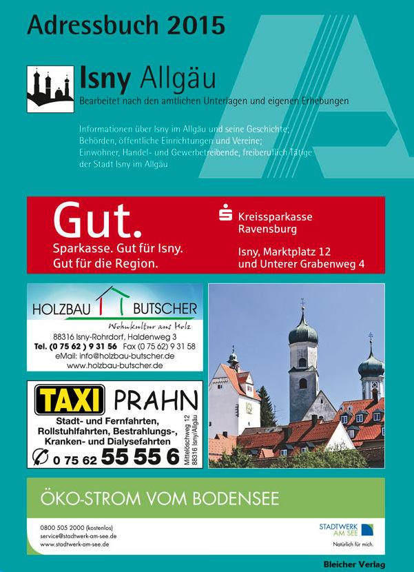 Adressbuch Isny im Allgäu 2015