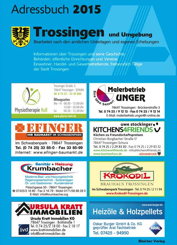 Adressbuch Trossingen 2015