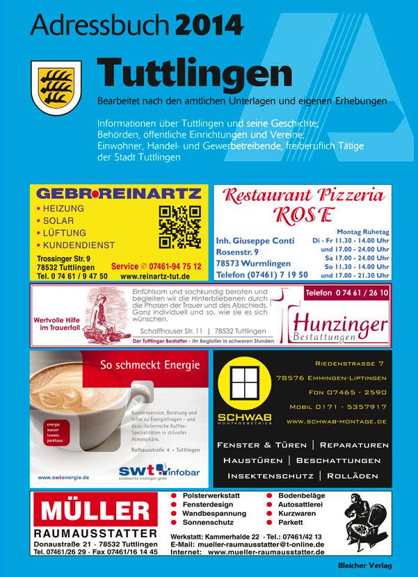 Adressbuch Tuttlingen