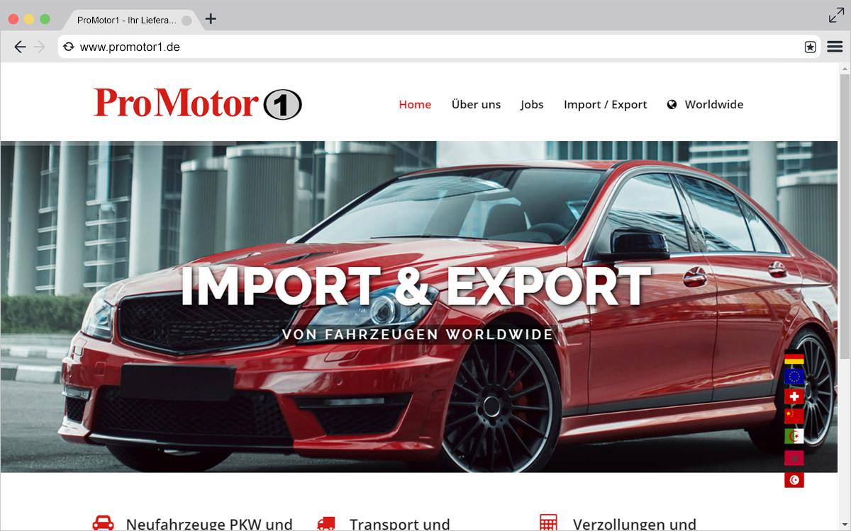 Neue Webseite: ProMotor1 Leonberg
