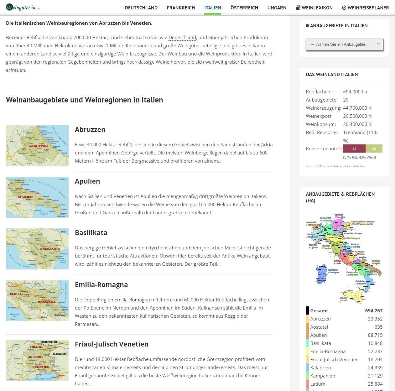 Weinanbauregionen